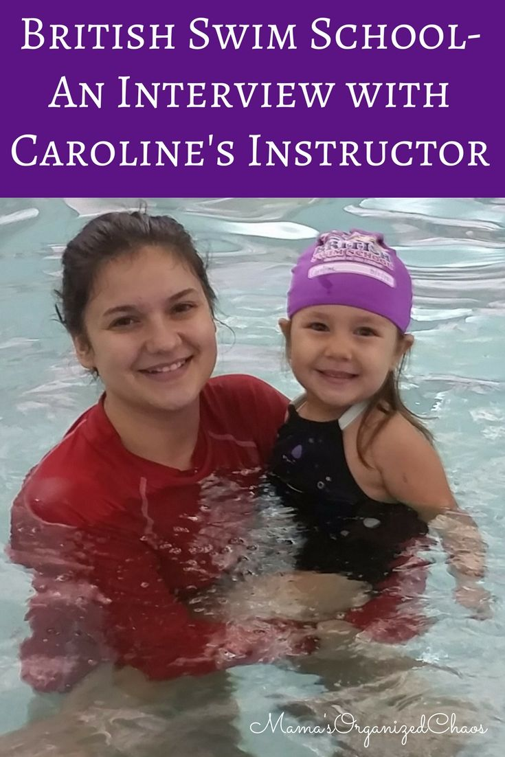 Mama's Organized Chaos: British Swim School- An Interview with Caroline's Instructor