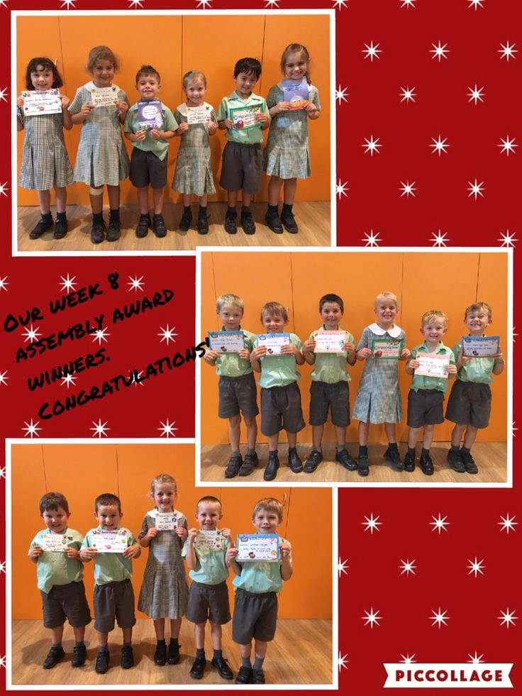 Congratulations to these amazing Kinder students!