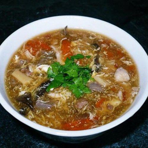 Ostrokyslá čínska polievka