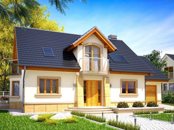 Projekt domu KR Szmaragd N - DOM KR2-96 - gotowy projekt domu