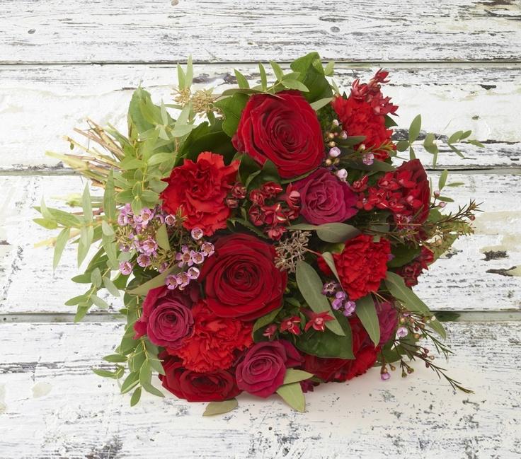 Romantisk buket | Happyflower.dk