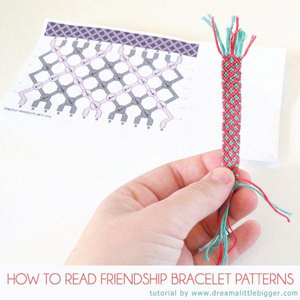 Friendship bracelet patterns demystified! (video)