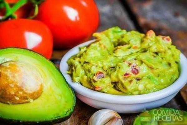 Receita de Guacamole apimentada - Comida e Receitas