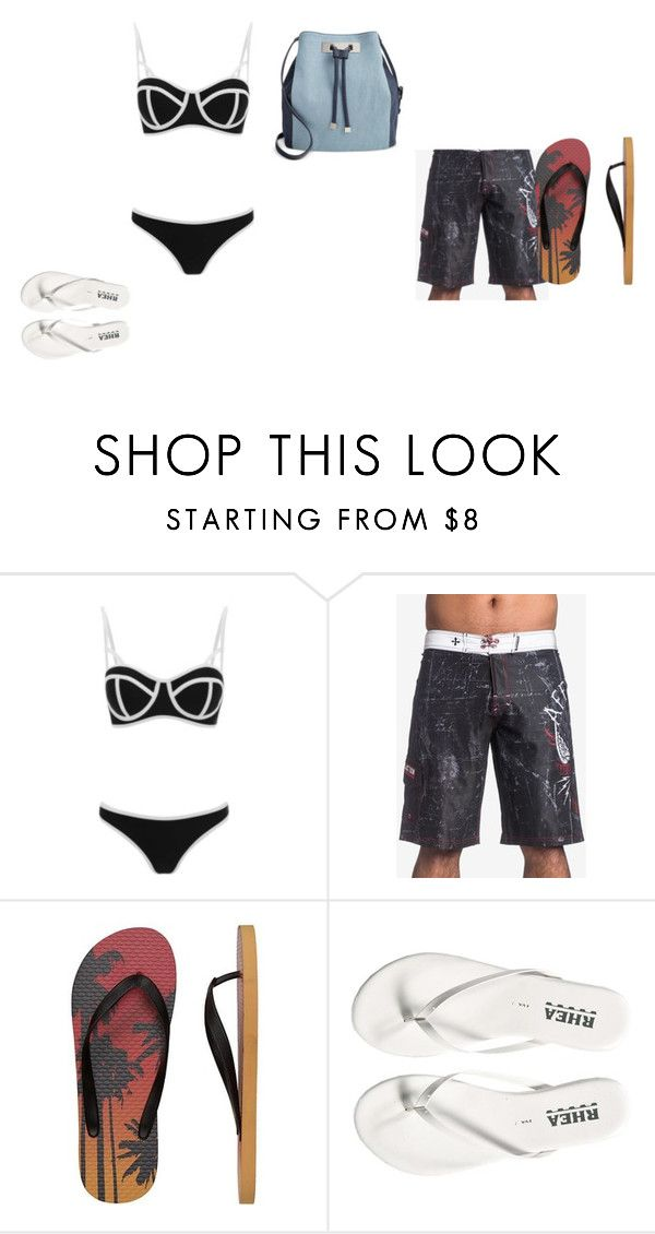 """Untitled #23"" by sterian-ioana on Polyvore featuring South Beach, Affliction, Gap and INC International Concepts"