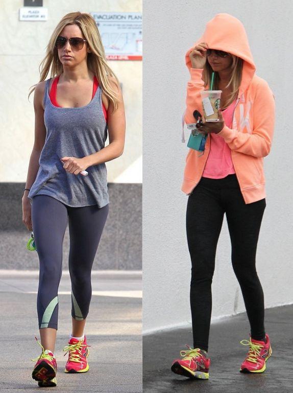 Vive la Mode   Celebrities at the Gym