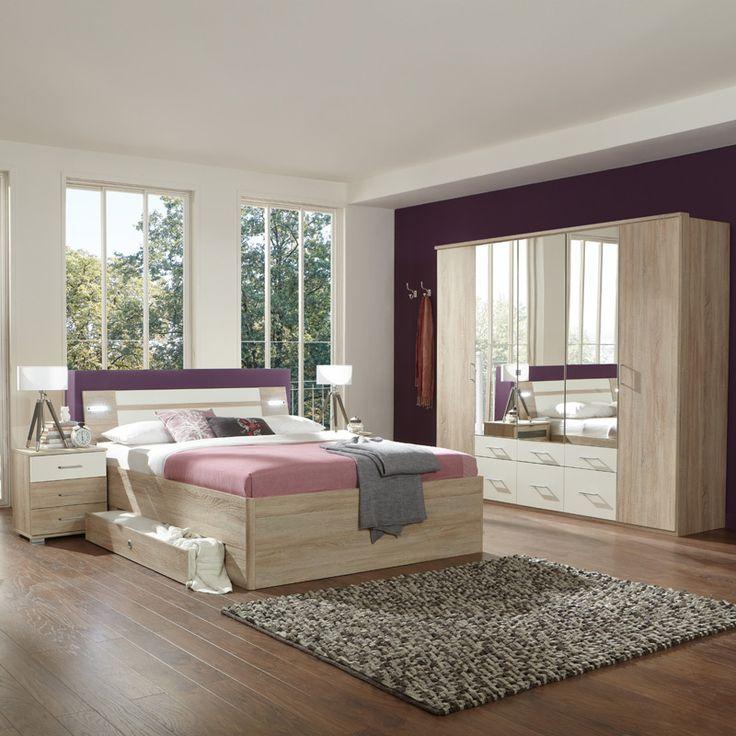 Die besten 25+ Eiche Schlafzimmermöbel Ideen auf Pinterest - italienische schlafzimmer komplett