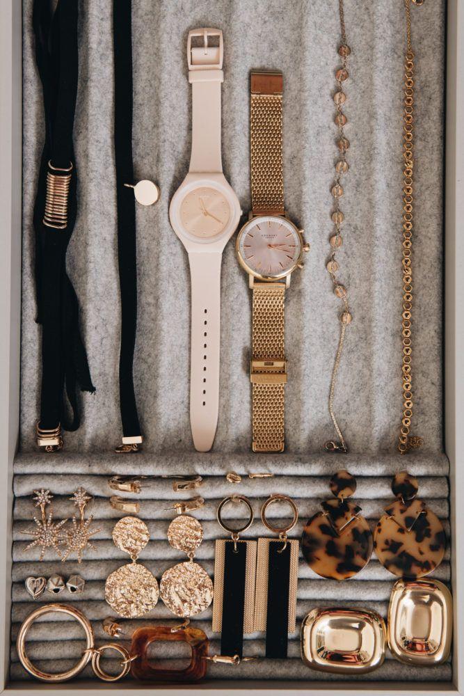 Pretty & neat: organize jewelry & store