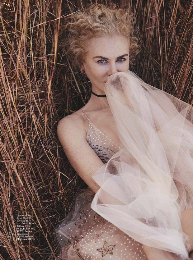 Nicole Kidman Stars in Vogue Australia January 2017 - Dior Spring 2017