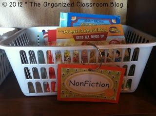 Classroom Library Organization  I have seen amazing class libraries and they were all set up different from one another! What I CAN share with you though is how I have always set up mine. I am pretty positive that the decision for how best to set up YOUR classroom library needs to fall to your preferences and that it is not a one-size-fits-all approach. Want your own Book Genre Labels?  Head over to Organized Classroom to grab yours for free!  Charity  3-5 6-8 9-12 classroom library…