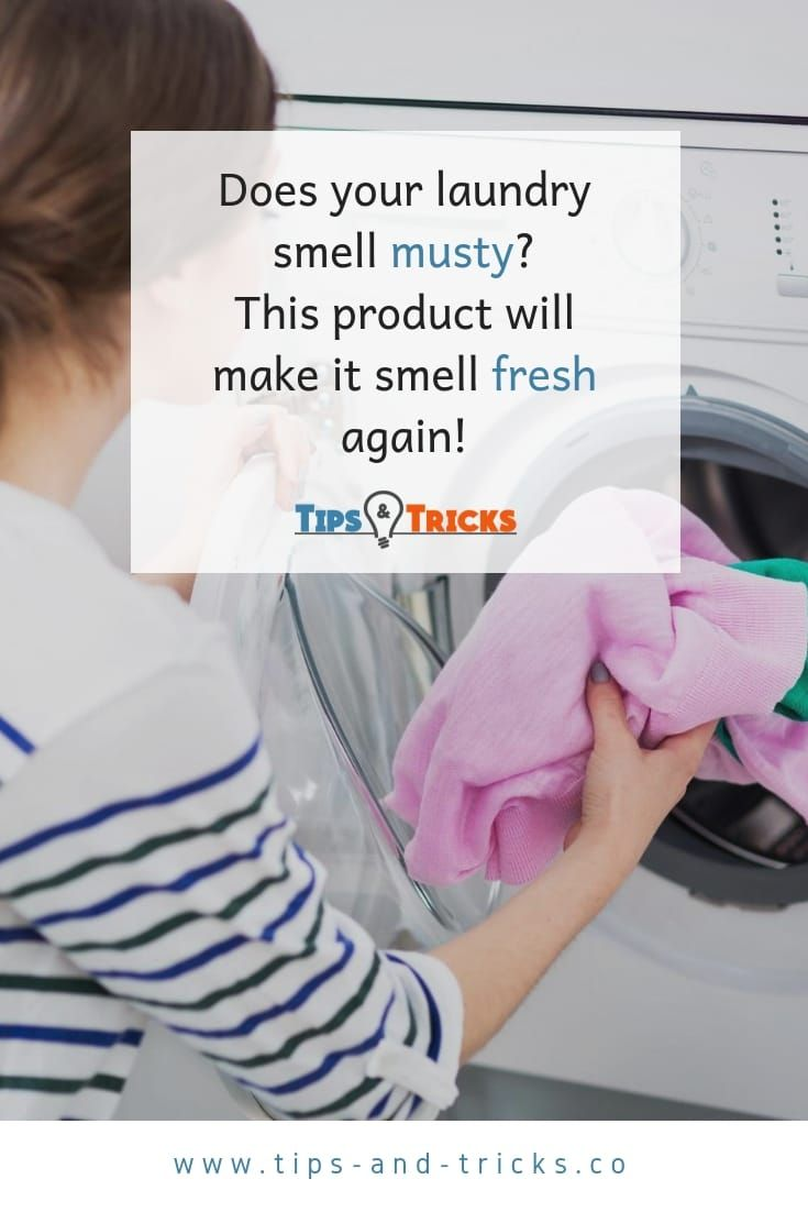 Does Your Clean Laundry Smell Musty Use This Surprising Product