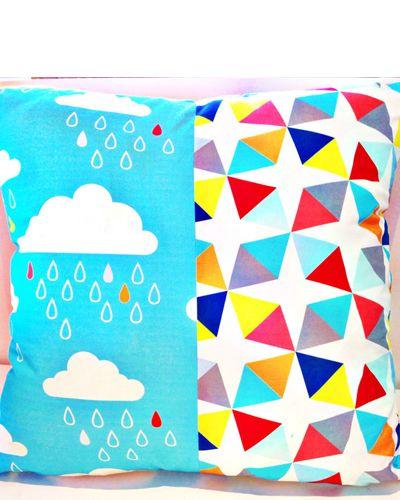 Euro Large Floor Cushion Cover Sun Showers #beanandme #nursery #nurserydecor