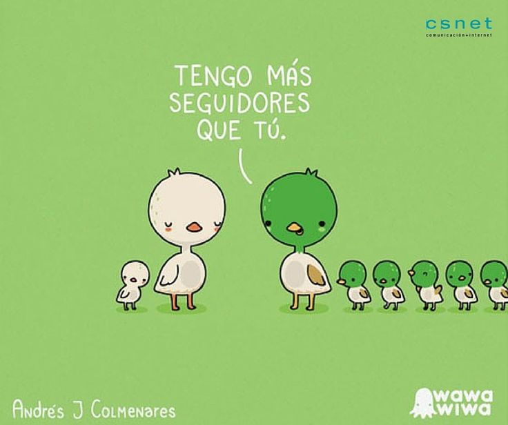 #CSnet #Seguidores #RRSS #RedesSociales #Patos #Humor