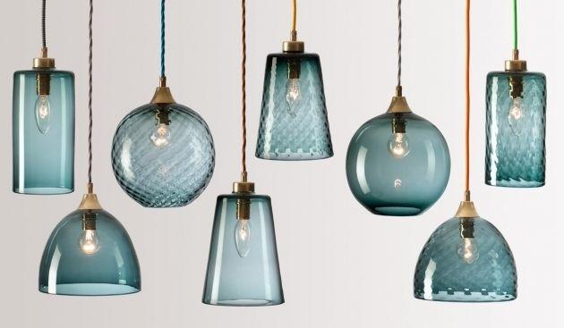 Incredible Colored Glass Pendant Lights Aneilve Glass Pendant