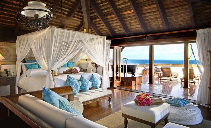 Tropische slaapkamer