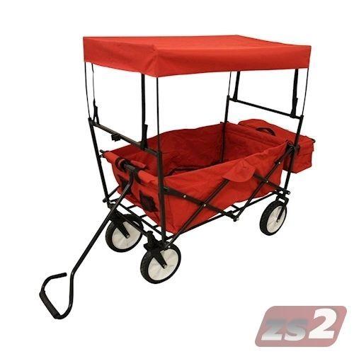 CMX-Bollerwagen-Klappbar-Transportkarre-Handwagen-Geraetewagen-Gartenwagen-Karre