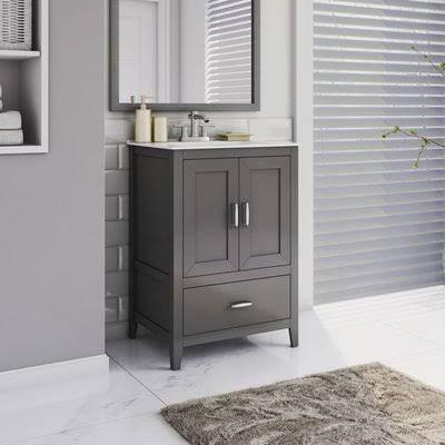 Joss And Main Bath Vanity With Images Single Bathroom Vanity