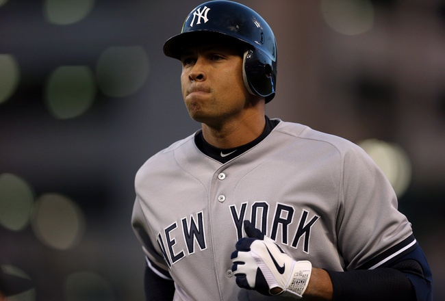 """Biggest Takeaways From MLB's Reported Plans to Suspend A-Rod, Braun, Others With Ties to the Now-Defunct Miami Anti-Aging Clinic """"Biogenesis""""  -SLIDESHOW from Bleacher Report 6-4-2013  Picture: Alex Rodriguez  Hi-res-156449194_crop_650x440"""