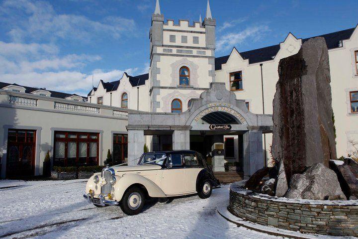 Wedding transportation across Muckross Park Hotel