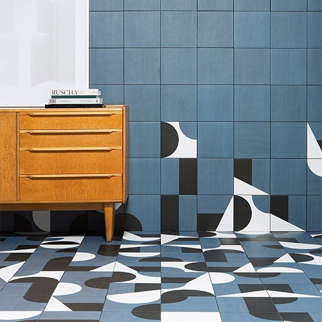 London studio Barber and Osgerby has created a set of patterned geometric tiles…
