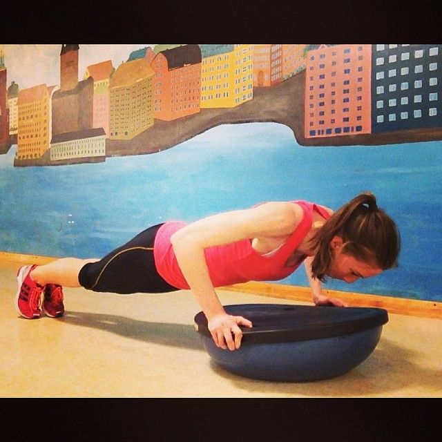Bosu Ball Hiit: 478 Best Images About Exercise With BOSU On Pinterest