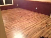 Great laminate floor at Lowes (10% discount to veterans)