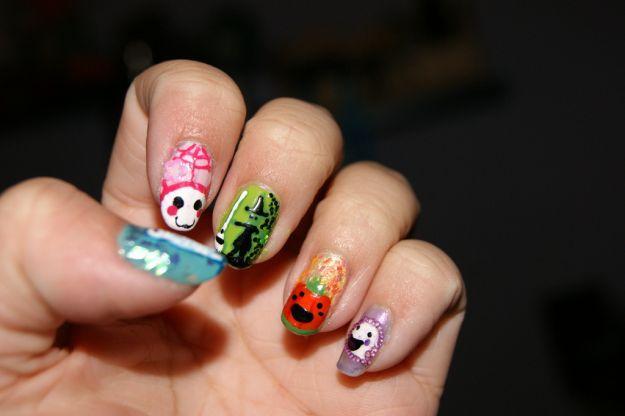 Радужный маникюр ::: onelady.ru ::: #nail #nails #nailart #manicure