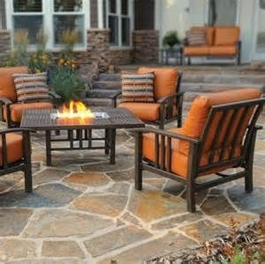 Attractive Nice Lovely Patio Furniture Fire Pit Table Set 45 With Additional Interior  Designing Home Ideas With