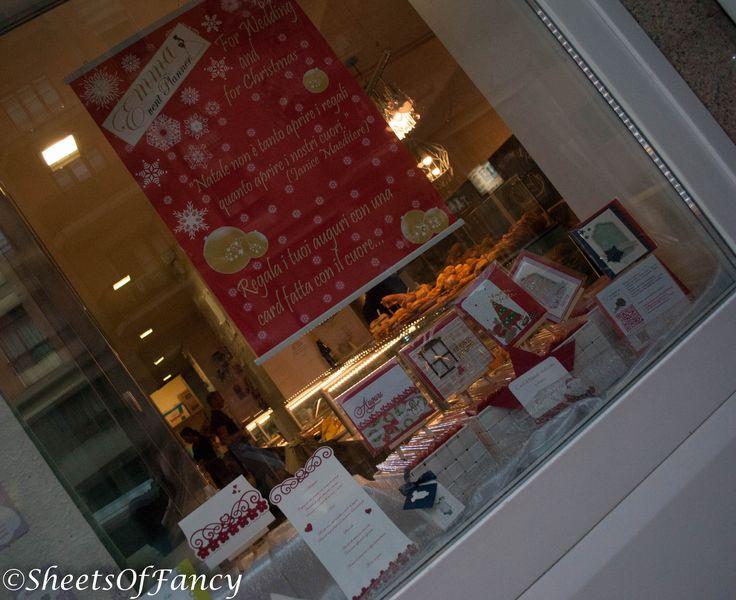 Esposizione della card di Natale di Emma Event Planner