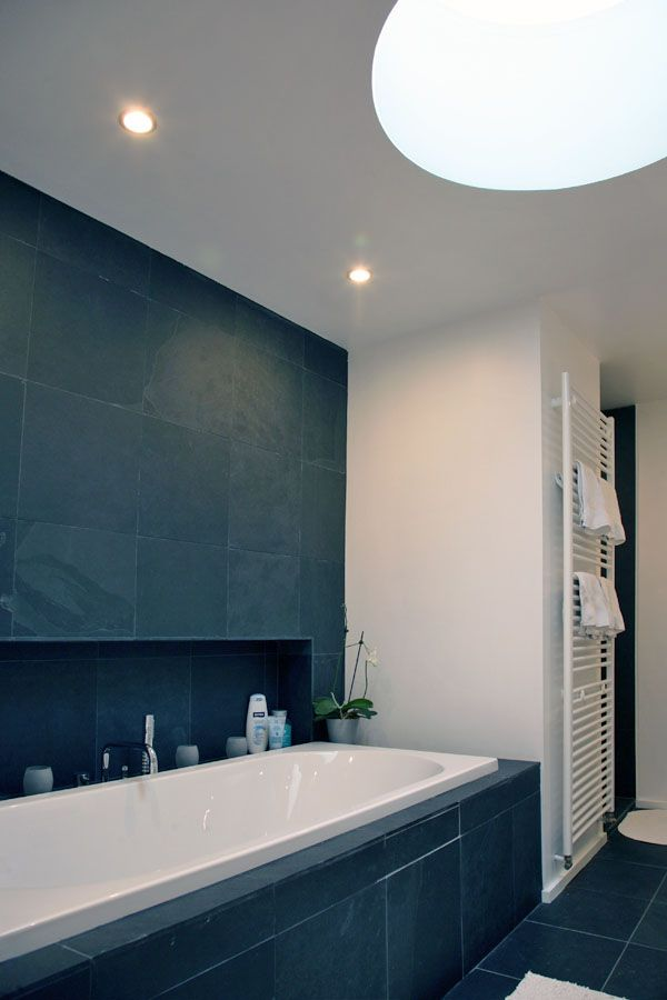 badkamer ruwheid leisteen hvh-architecten