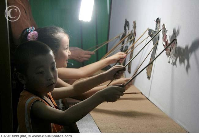 Shadow puppets  -- this is a great idea to incorporate with any study.   Great of end of hour activities when kids can leave as needed.