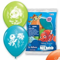 Finding Nemo Balloons, Finding Nemo Party Supplies