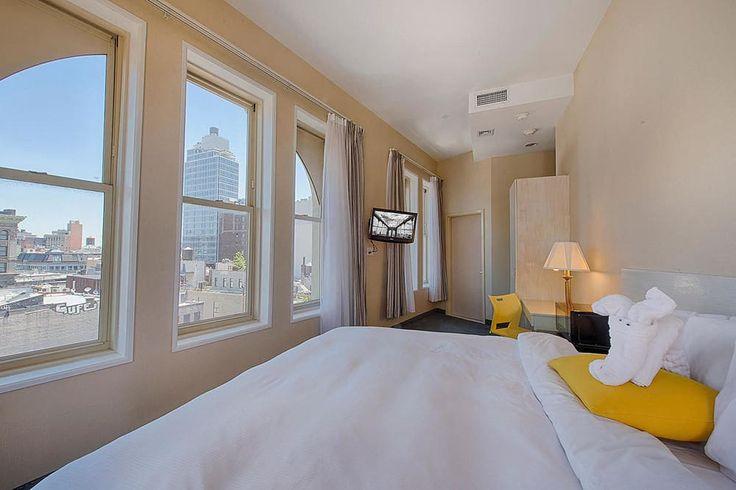 Soho Garden Hotel, New York, Deluxe Queen Suite, Gjesterom 6k