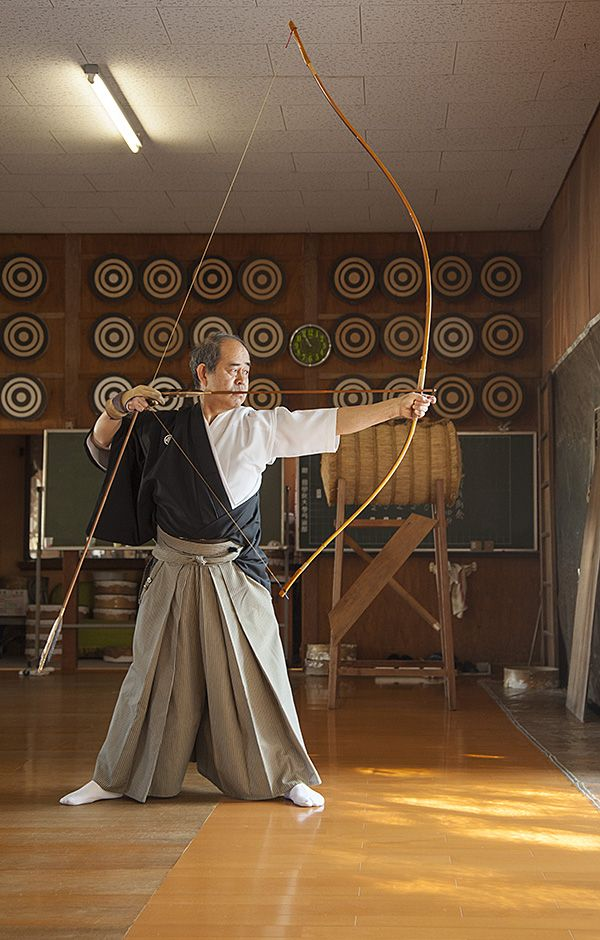 Kyudo: The ancient art of #Japanese #archery