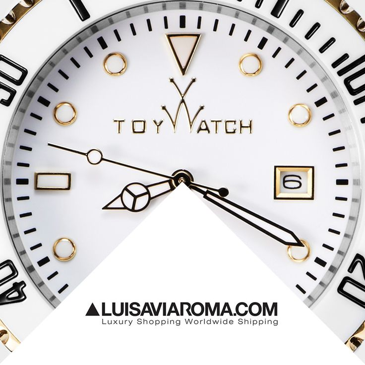 Every ToyMrHyde watch has a hidden side that will surprise you... Find it out visiting LuisaViaRoma online selection, click now! #ToyWatch #watch #watches #style #fashion #accessories #forher #ToyWatchSelection #LVR #LuisaViaRoma #eshop #luxury #shopping #white  #gold