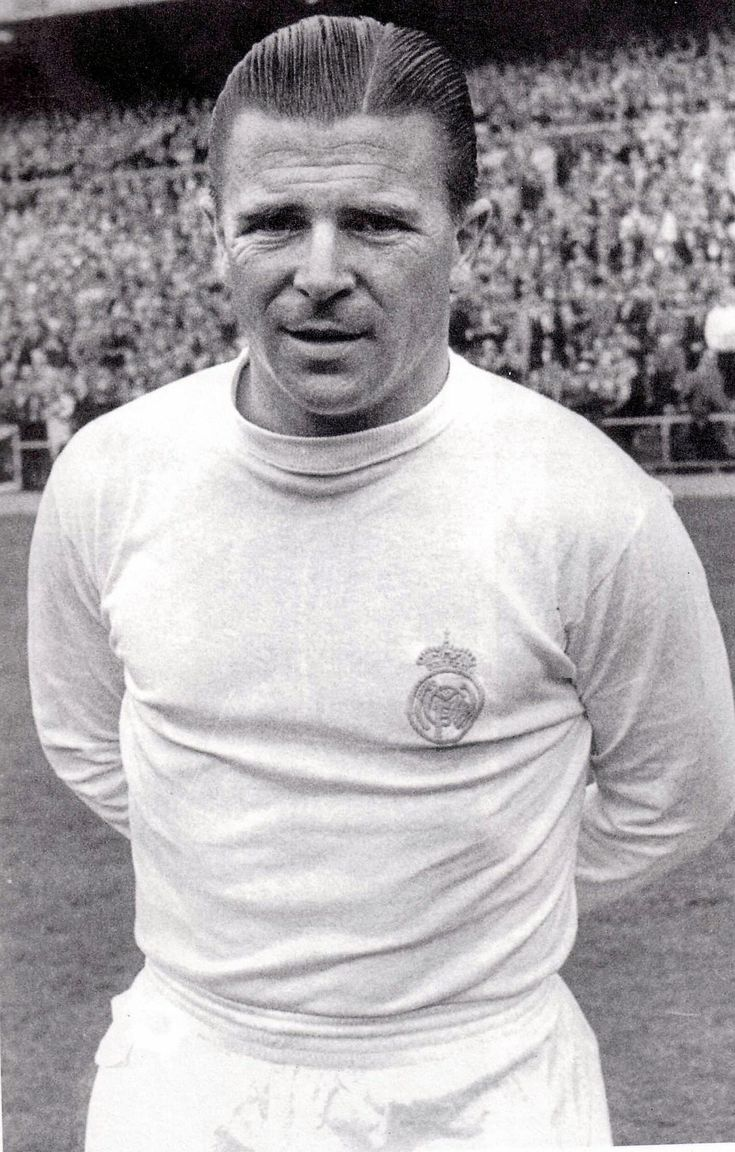 Férenc Puskás, member of the all-conquering 'The Golden Team' and later, Real Madrid (1958-1966).