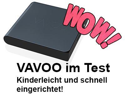 Schon gesehen? Die VAVOO TV BOX im Angebot für nur 99 Euro, statt 149 Euro. Durch unseren Gutschein: 5GUTSCHEIN erhaltet ihr noch mal 5% Rabatt zusätzlich!