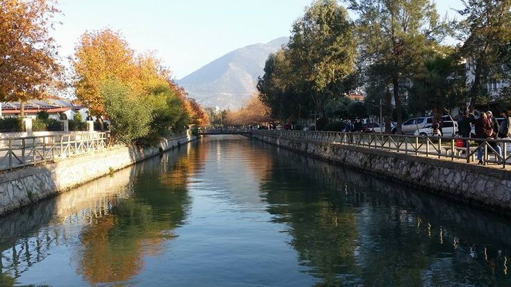Water channel in #Fethiye close to Tuesday Market