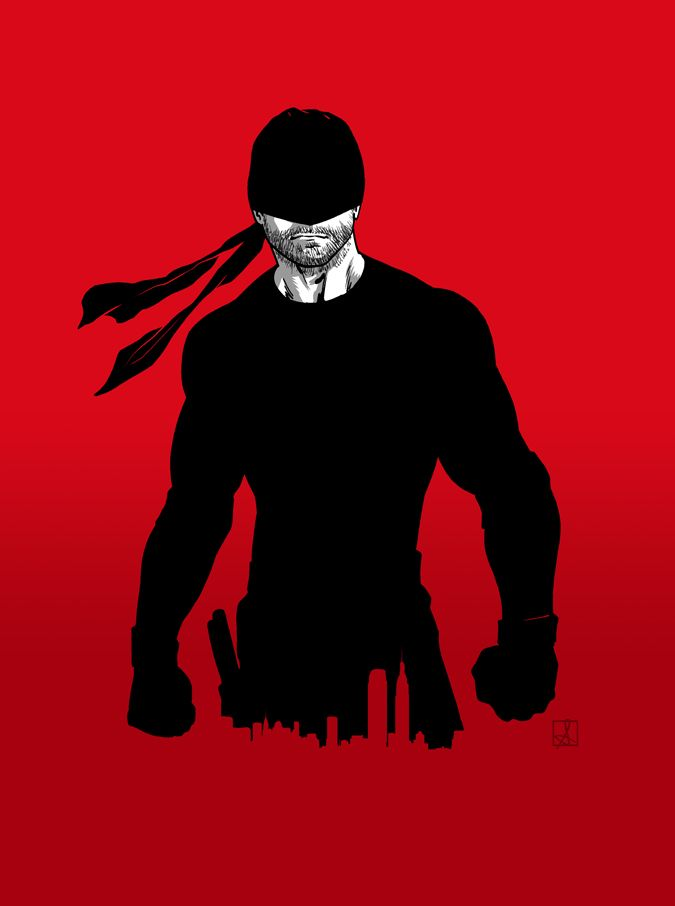 Started watching Daredevil today, holy smokes, what an incredible show! I'm hooked!