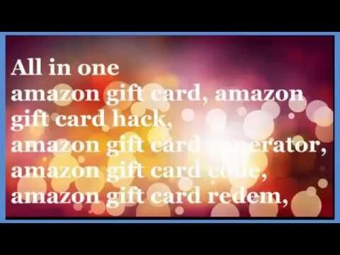 amazon gift card hack 2017 , how to get free amazon gift card