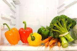 Lagerung von Gemüse und Obst aus dem Küchengarten