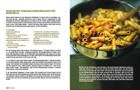 Rezept von Jamie Oliver: Rigatoni mit Tomaten-Auberginen-Sauce und Mozzarella