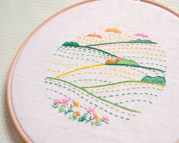 36 Best Hand Embroidery Images On Pinterest Embroidery Embroidery