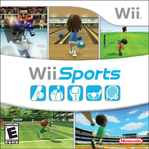Wii Sports  Original edition, comes in cardboard sleeve, not typical game case  5 Games in 1: Boxing, Bowling, Golf, Tennis, Baseball  This is the standalone game - this game also comes bundled with the Wii