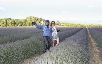 Die Provence in Frankreich zählt zu den schönsten Gegenden in Europa, est recht wenn der Lavendel blüht. Jogi war mit Endurofun-Tours dort und das Leben genossen ...