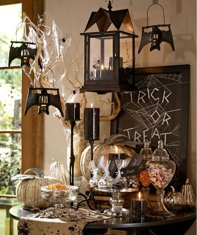 deco halloween pinterest. Black Bedroom Furniture Sets. Home Design Ideas