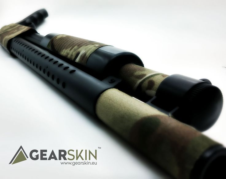 GEARSKIN™    Shutgun multi-cam skin.   Re-pin it and follow and get yourself a ticket to awesome free giveaways!!   #guncamo #airsoftinternational #airsoftobsessed #gearwhore #airsoft #airsofter #milsim #tactical #hunting #military #guns #gear #camouflage #multicam #shutgun