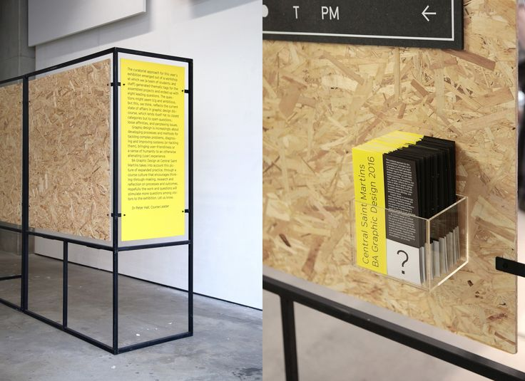 Exploring This Years Theme Of Questioning Perceptions The Visual Identity BA Graphic Design Degree Show At Central Saint Martins Utilized