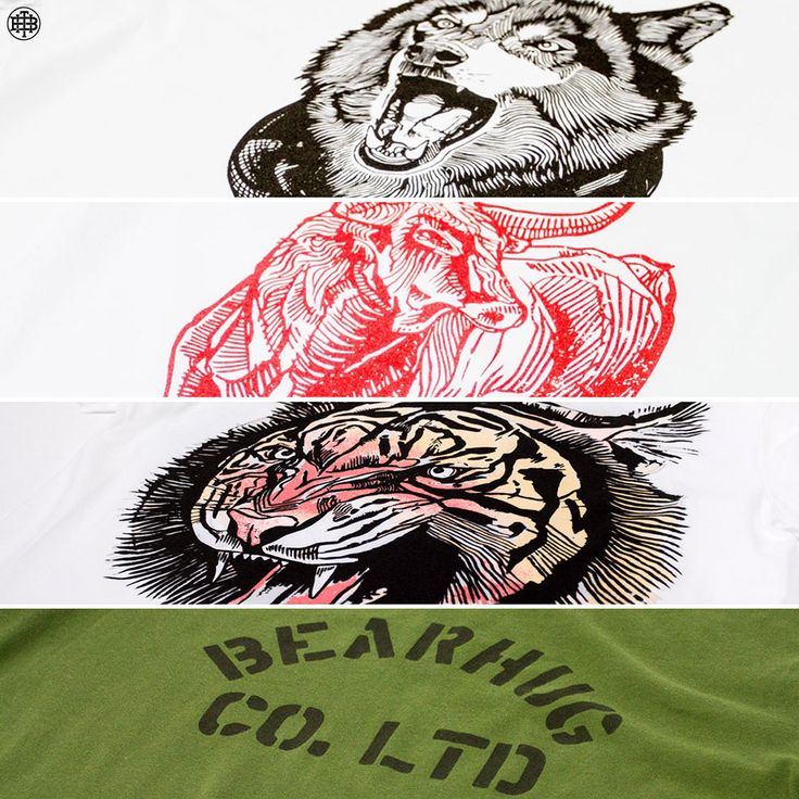 We've added 4 *NEW* T-Shirts to the website - THEBEARHUG.com