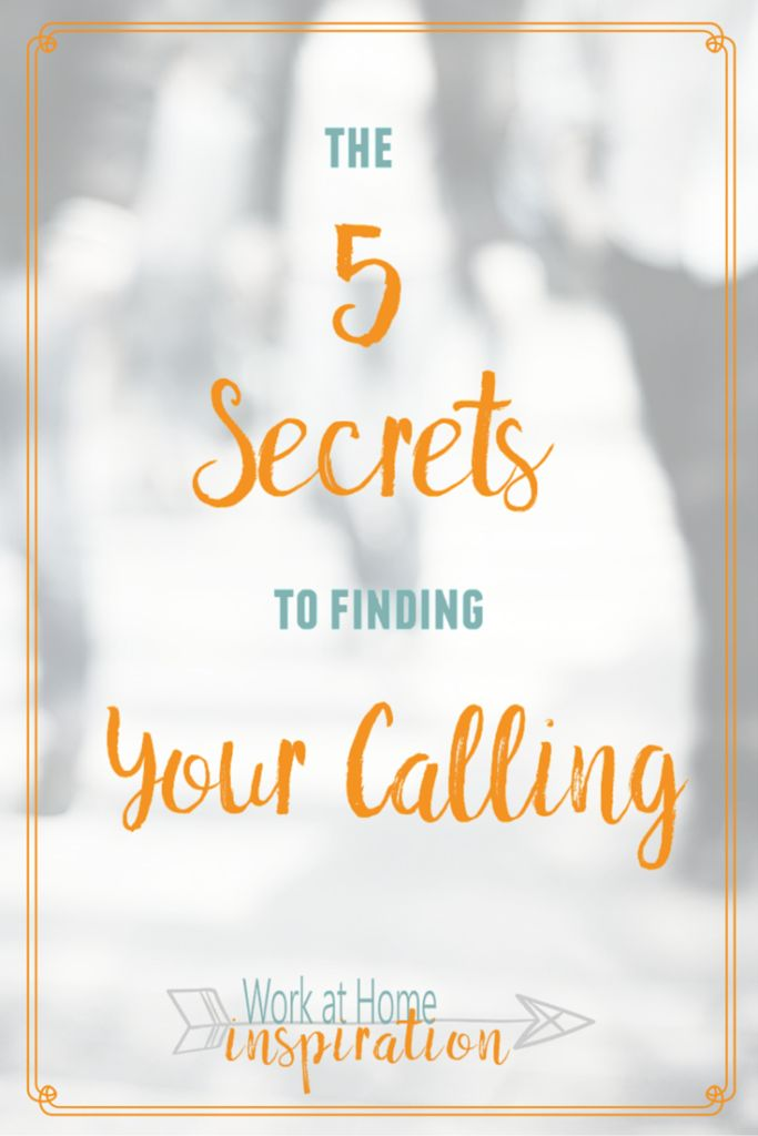 The 5 Secrets to Discovering Your Calling no Matter how Long You've been searching. God does have a plan for you!