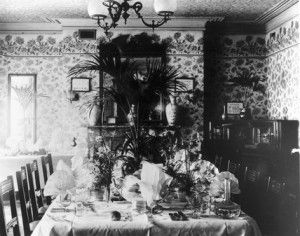 17 Best Edwardian Victorian Dining Rooms Images On Pinterest